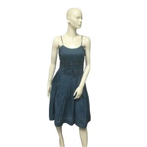 Odille Womens Blue Dress Size 4 (SKU 000062)